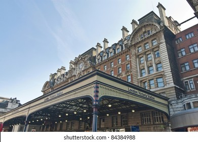 Victoria Station terminal located at London