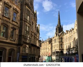 Victoria Street View Edinburgh