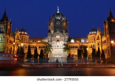 Victoria terminal CST, Mumbai, India