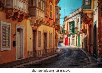 Victoria town on Maltese island Gozo.