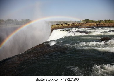 Victoria waterfall and Zambezi river