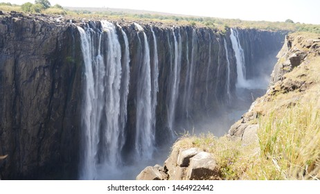 Victoria Waterfalls Zimbabwe One of the  7   wonders of the world
