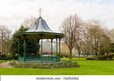 Victorian Bandstand, located in Mowbray Park, Sunderland, Tyne & Wear