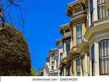 Victorian Homes - San Francisco, California