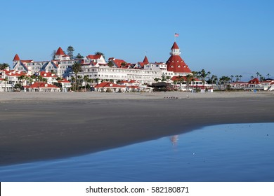 "Victorian Hotel del Coronado where ""Some like it hot"" with Marilyn Monroe was filmed San Diego, California, United States"