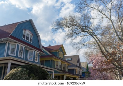 Victorian Houses in Brooklyn, NY