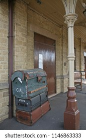 Victorian Railway Station in England