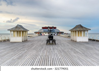 The Victorian seaside pier at Cromer on the north coast of Norfolk