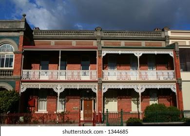 Victorian terrace house in Launceston, Tasmania.