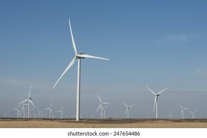 Victorian  wind farm  near Hamilton.
