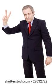 victory businessman