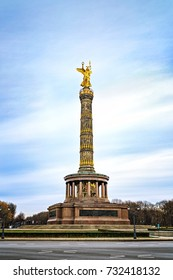 Victory column, Berlin, Germany