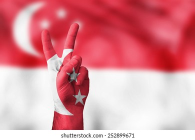 victory for Singapore