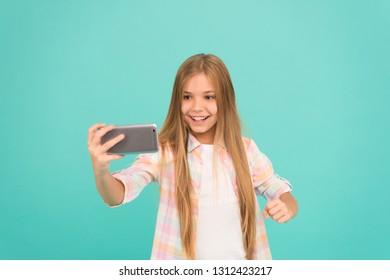 Blond teen hello world