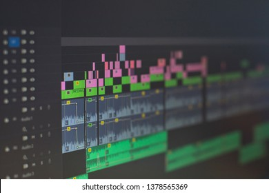 video editting timeline