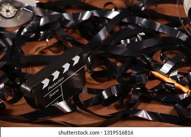 video film clapper board