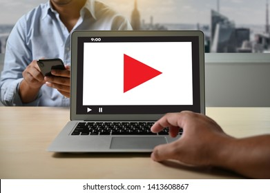 VIDEO MARKETING Audio Video , market Interactive channels , Business Media Technology innovation Marketing technology concept