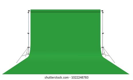 Video studio background