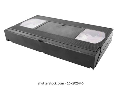 Video tape isolated on a white background