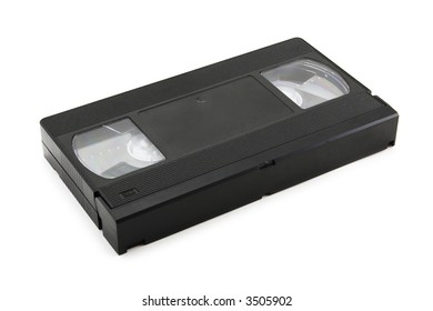video tape on a white background with soft shadow