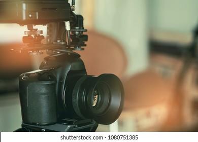 videographer close up , cameraman , movie, man with camera, movie, professional camera