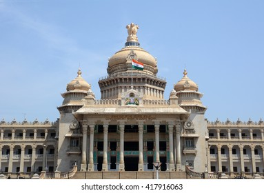Vidhana Soudha is the seat of Karnataka's legislative assembly located in Bengaluru, India.