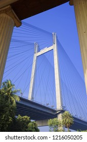 Vidyasagar Setu, also known as the Second Hooghly Bridge, is a toll bridge over the Hooghly River in West Bengal, India, linking the cities of Kolkata and Howrah