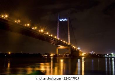 Vidyasagar Setu in Kolkata, known as 2nd Hooghly Bridge
