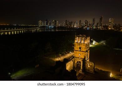 Panamá Viejo, also known as Panamá la Vieja
