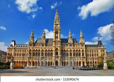 Viena, City hall. Austria