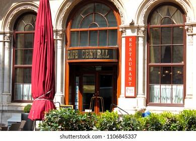 Vienna, Austria, 1st April, 2015, Cafe Central, famous cafe