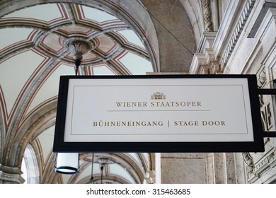 VIENNA, AUSTRIA -24 JUNE 2015- Built in 1869, the neo-Renaissance Vienna State Opera (Wiener Staatsoper) is located on the Ringstrasse. Its musicians are linked to the Vienna Philarmonic.