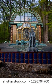 Vienna, Austria - April 17 2008: Villa Wagner 1, now home to the Ernst Fuchs Museum, a work and first residence of the famous Art Nouveau architect Otto Wagner