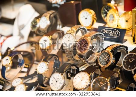 VIENNA AUSTRIA AUGUST 10 2015 Luxury Stock Photo (Edit Now