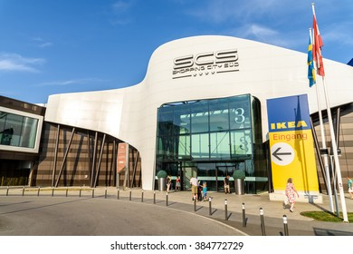 VIENNA, AUSTRIA - AUGUST 11, 2015: Shopping City Sud Is The Biggest Shopping Mall In Austria.