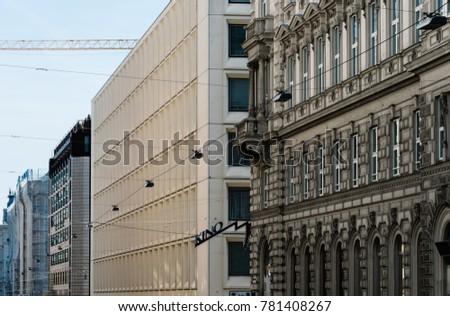 Vienna Austria August 16 2017 Landespolizeidirektion Stock Photo