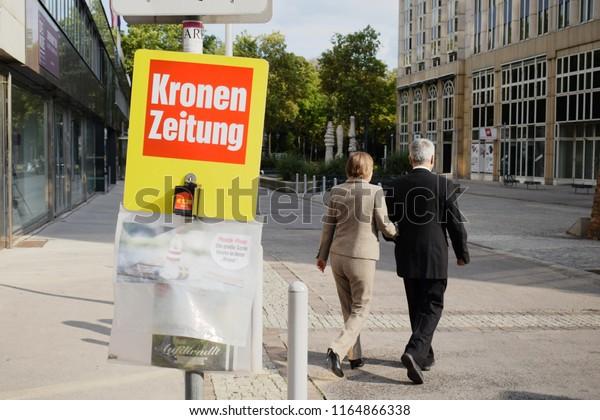 Vienna Austria August 26 2018 Austrian Stock Photo (Edit Now