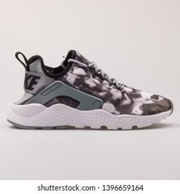 huge discount 7e370 2ce1b VIENNA, AUSTRIA - AUGUST 30, 2017  Nike Air Huarache Run Ultra Print black