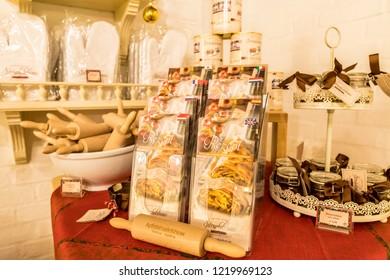 Vienna, Austria - December 2017: Wiener Strudelshow tourist attraction at Schonbrunn Pallace in Vienna