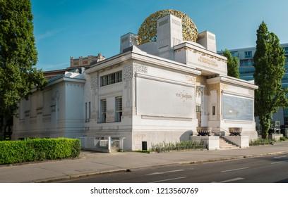 Vienna, Austria - July 01, 2015: Vienna Secession museum building, Austria