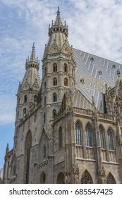 VIENNA, AUSTRIA - JULY 21, 2017: St. Stephen's Cathedral at Vienna, Austria.