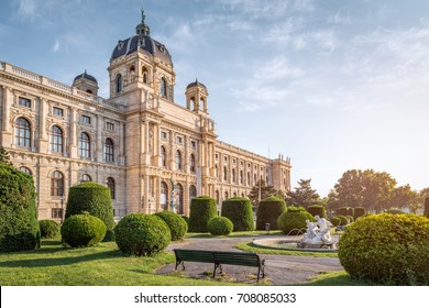 Vienna, Austria - June 6, 2015: The Natural History Museum in Vienna