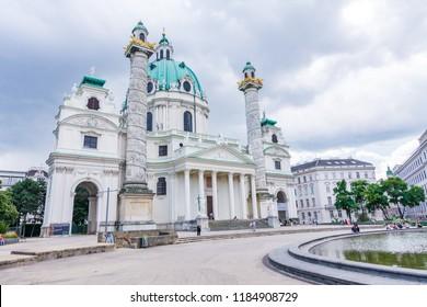 Vienna, Austria - May 12 2018: Vienna, the capital of Austria.