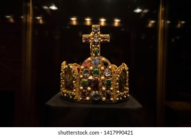 Imperial Crown of the Holy Roman Empire Images, Stock Photos