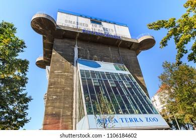 Vienna, Austria, Sept 30, 2017 Haus Des Meeres (Aquarium)