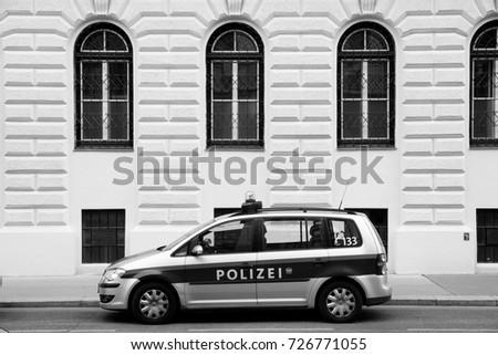 Vienna Austria August 7 2017 Vans Stock Photo (Edit Now