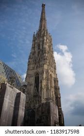 Vienna, Austria, September 7, 2018.St. Stephan cathedral in Vienna