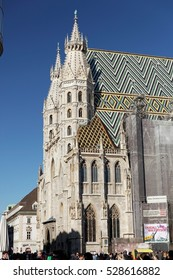 Vienna, Austria:April 30, 2016:St. Stephan's Cathedral (Stephansdom). It is main destinations of tourists in Vienna. The most important religious place in Vienna.