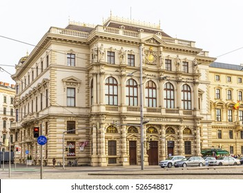 VIENNA, AUSTRIA-NOVEMBER 30, 2016: Palais Erzherzog Ludwig Viktor, Burgtheater-Casino