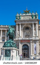 VIENNA - JULY 22: Hofburg Palace is has housed some of the most powerful people in European and Austrian history, including the Habsburg dynasty on July 22, 2013 in Vienna, Austria.